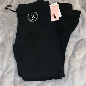 NWT juicy couture terry joggers